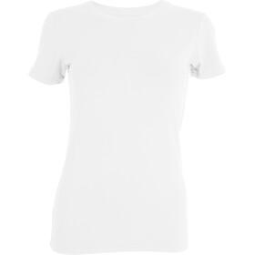 Tufte Wear Crew Neck Tee Dame bright white